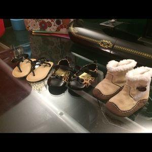 GAP Shoes - Size 3 baby girl shoe lot